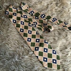J. Crew Retro Geometric Men's Neck Tie
